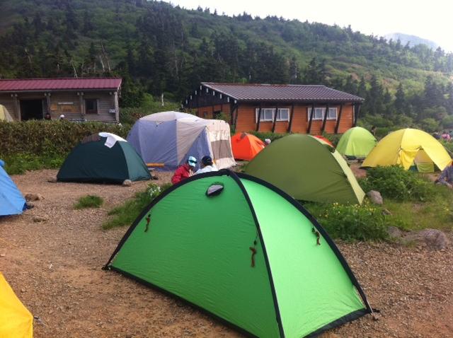 石川県 南竜ヶ馬場キャンプ場 の写真g2254